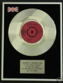 "THE KINKS  7"" Platinum Disc- ALL DAY & ALL OF THE NIGHT"